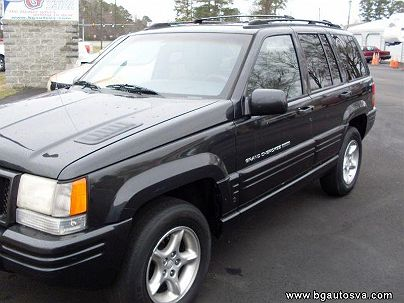Photo 1: Charcoal 1998 Jeep Grand Cherokee Limited Edition in Hayes, VA exterior view from front driver's side