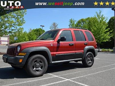 Photo 1: Flame Red 2006 Jeep Liberty Sport in Huntington, NY