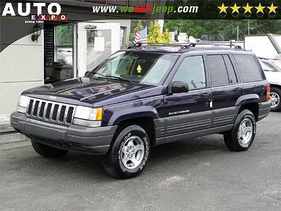 Photo 1:  1997 Jeep Grand Cherokee in Huntington, NY exterior view of driver's side