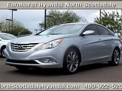 Photo 1:  2013 Hyundai Sonata Limited Edition in Scottsdale, AZ exterior view from front driver's side