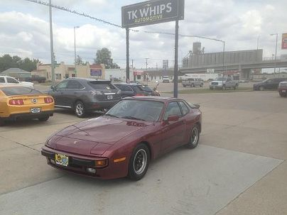 Photo 1: Burgundy 1984 Porsche 944 in Kearney, NE exterior view from front driver's side