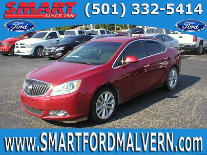Photo 1: Crystal Red Tintcoat 2012 Buick Verano Base in Malvern, AR exterior view from front driver's side