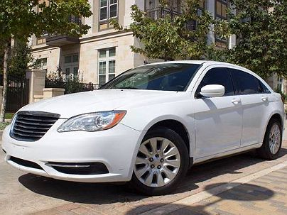Photo 1:  2012 Chrysler 200 LX in San Antonio, TX exterior view from front driver's side