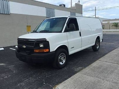 Photo 1:  2004 Chevrolet Express 2500 in Hallandale, FL exterior view from front driver's side