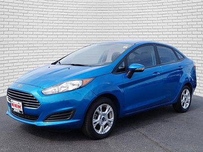 Photo 1: Performance Blue 2014 Ford Fiesta SE in Wichita, KS