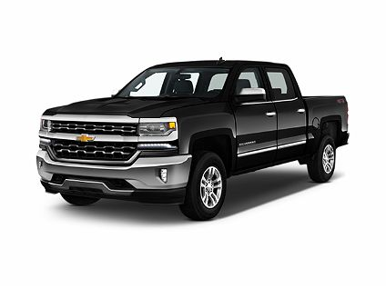 Photo 1: Black 2018 Chevrolet Silverado 1500 In Salisbury NC