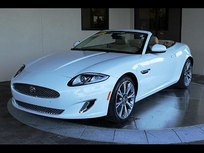 Photo 1: Polaris White 2014 Jaguar XK in Sarasota, FL