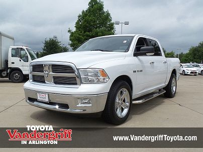 Photo 1:  2010 Dodge Ram 1500 in Arlington, TX exterior view from front driver's side