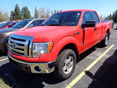 Photo 1:  2011 Ford F-150 in Sault Sainte Marie, MI exterior view from front driver's side