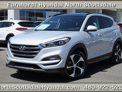 Photo 1:  2016 Hyundai Tucson Limited Edition in Scottsdale, AZ exterior view from front driver's side
