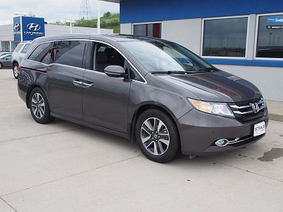 Photo 1: Modern Steel 2015 Honda Odyssey Touring Elite in Triadelphia, WV