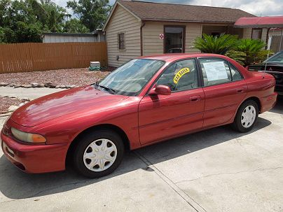 Photo 1:  1997 Mitsubishi Galant in Longwood, FL exterior view from front driver's side