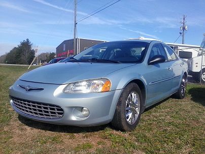 Photo 1:  2001 Chrysler Sebring LXi in Sunny Side, GA exterior view from front driver's side