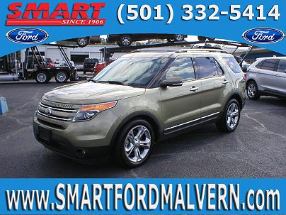 Photo 1: Ginger Ale Metallic 2013 Ford Explorer Limited Edition in Malvern, AR exterior view from front driver's side