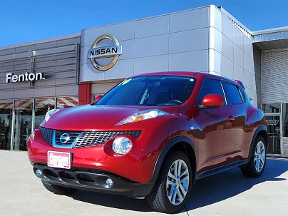 Photo 1: Cayenne Red 2013 Nissan Juke SL in Mcalester, OK exterior view from front driver's side