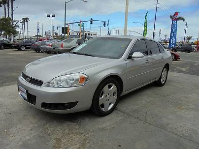 Photo 1:  2007 Chevrolet Impala SS in National City, CA exterior view of passenger side