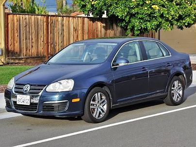 Photo 1: Dark Blue 2005 Volkswagen Jetta in San Jose, CA exterior view from front driver's side