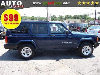 Photo 2 Black 1999 Jeep Cherokee In Huntington NY Exterior View Of Passenger Side