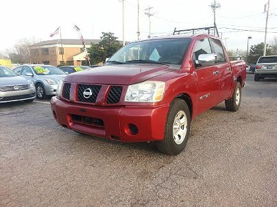Photo 1: Burgundy 2006 Nissan Titan XE in Oklahoma City, OK