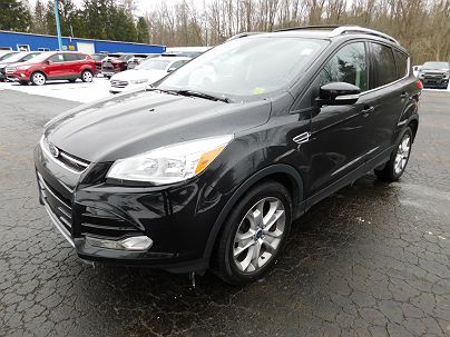 Photo 1:  2014 Ford Escape Titanium in Gowanda, NY exterior view from front driver's side