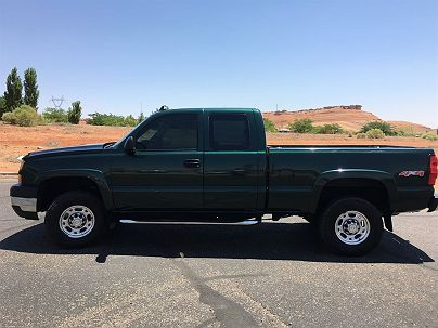 Photo 1:  2006 Chevrolet Silverado 2500HD LT in Page, AZ exterior view of driver's side
