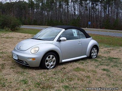 Photo 1:  2003 Volkswagen New Beetle GLS in Hayes, VA exterior view from front driver's side