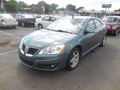 Photo 1: Teal 2009 Pontiac G6 Base in Oregon, OH exterior view from front driver's side