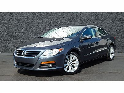 Photo 1:  2010 Volkswagen CC Sport in Toledo, OH exterior view from front driver's side