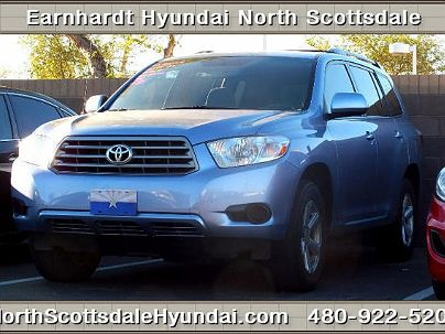 Photo 1:  2010 Toyota Highlander in Scottsdale, AZ exterior view from front driver's side