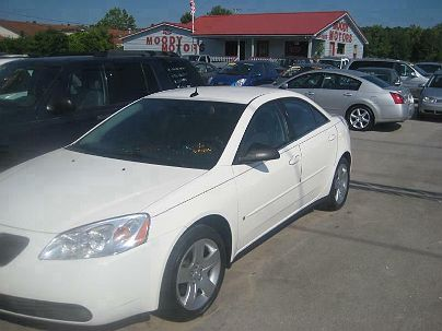 Photo 1:  2008 Pontiac G6 in Moody, AL exterior view from front driver's side