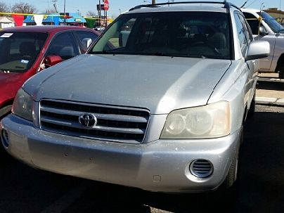 Photo 1:  2003 Toyota Highlander Base in Oklahoma City, OK exterior view from front driver's side