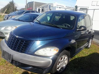 Photo 1:  2002 Chrysler PT Cruiser Base in Sunny Side, GA exterior view from front driver's side
