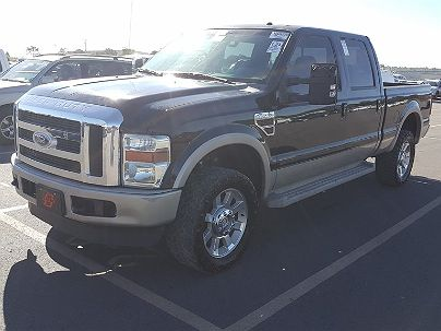 Photo 1:  2008 Ford F-350 FX4 in Lithonia, GA exterior view of driver's side