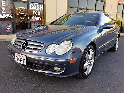 Photo 1:  2006 Mercedes-Benz CLK 350 in Corona, CA exterior view from front driver's side