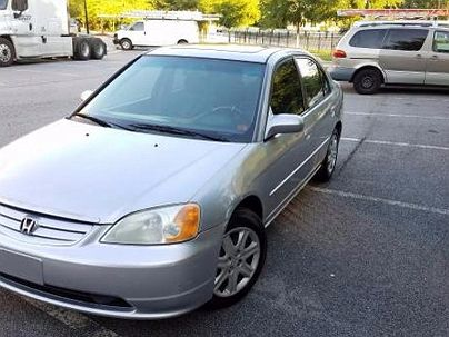 Photo 1:  2003 Honda Civic EX in Decatur, GA