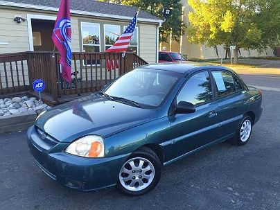 Photo 1:  2003 Kia Rio Base in Englewood, CO exterior view from front driver's side