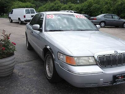 Photo 1:  2000 Mercury Grand Marquis LS in Crystal Lake, IL exterior view of driver's side
