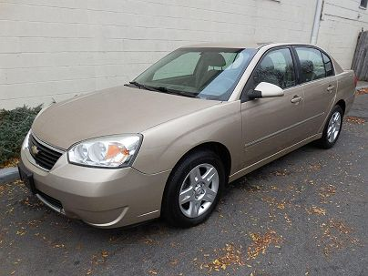 Photo 1: Sandstone Metallic 2006 Chevrolet Malibu LT LT2 in Pound Ridge, NY exterior view from front driver's side