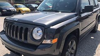 Photo 1: Charcoal 2014 Jeep Patriot in  exterior view from front driver's side