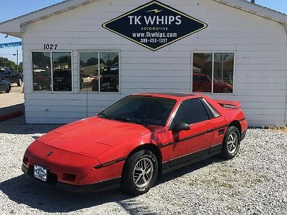 Photo 1:  1986 Pontiac Fiero SE in Kearney, NE exterior view from front driver's side