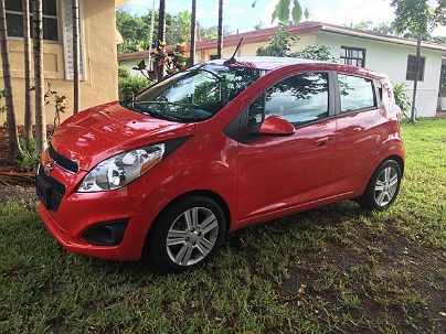 Photo 1:  2014 Chevrolet Spark LT LT1 in Hallandale, FL exterior view from front driver's side