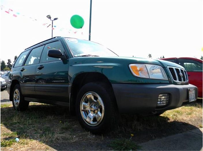 used 2001 subaru forester l for sale in edmonds wa jf1sf63551h718900 used 2001 subaru forester l for sale in