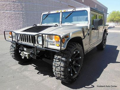 Photo 1: 2001 AM General Hummer Open Top in Scottsdale, AZ