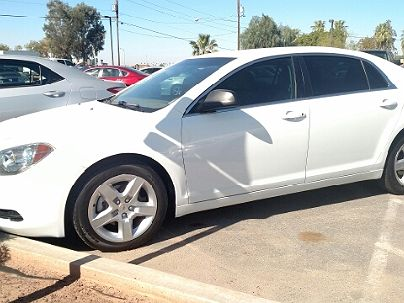 Photo 1:  2012 Chevrolet Malibu LS in Yuma, AZ exterior view from front driver's side