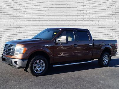 Photo 1: Golden Bronze Metallic 2011 Ford F-150 XLT in Wichita, KS exterior view of passenger side