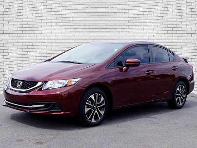 Photo 1: Crimson Pearl 2014 Honda Civic EX in Wichita, KS