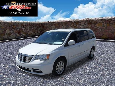 Photo 1:  2016 Chrysler Town & Country Touring in El Paso, TX exterior view from front driver's side