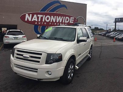 Photo 1: Off White 2008 Ford Expedition Limited in Oregon, OH exterior view from front driver's side