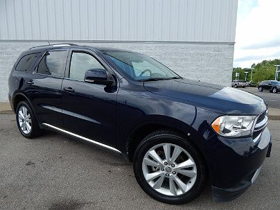 Photo 1: True Blue Pearl Coat 2012 Dodge Durango Crew in Springfield, TN exterior view from front driver's side