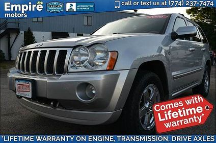Empire Motors Canton Ma >> Used 2006 Jeep Grand Cherokee Overland For Sale In Canton